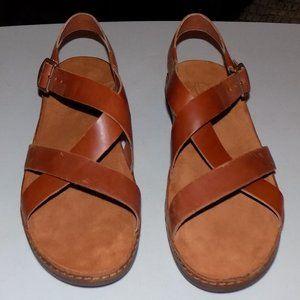New Chaco Wayfarer rust leather EU42 US11